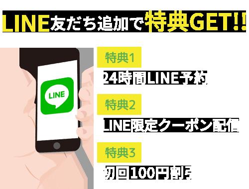 LINE@予約はこちら